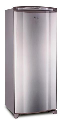 freezer vertical whirlpool 260 lts inox wvu27k1