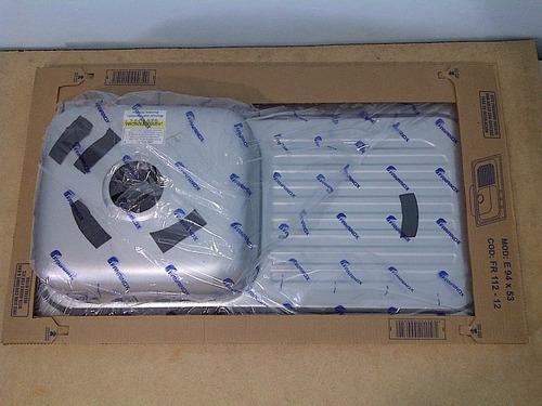 fregadero 94x53 fanainox acero inox (sobre tope) 90vrdes