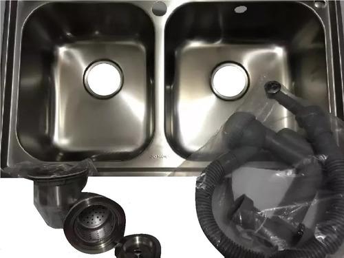 fregadero lavaplato doble tina