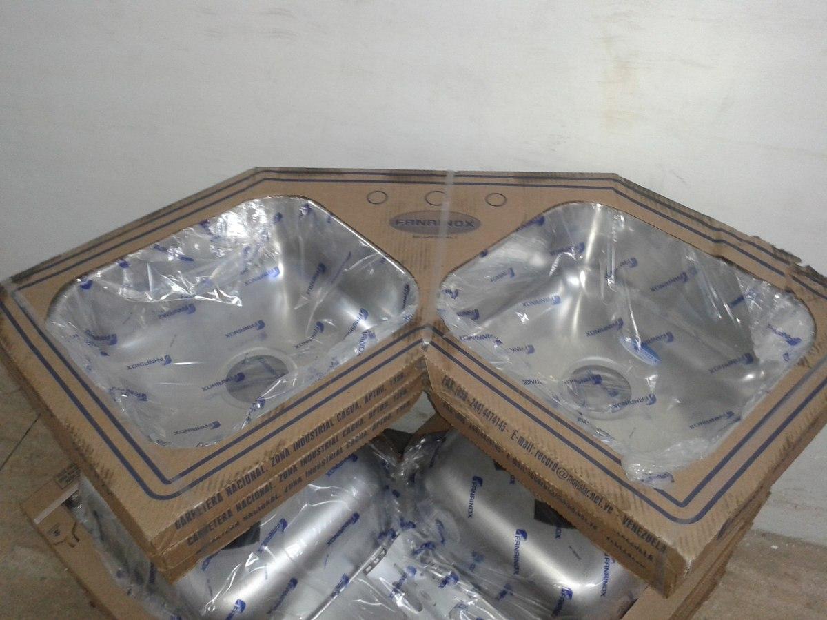 Fregadero lavaplatos esquinero acero inoxidable nuevo bs for Fregadero esquinero