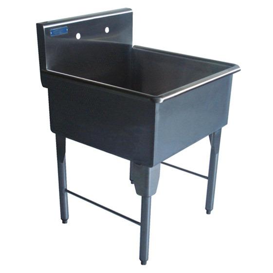 Fregadero sencillo individual 1 ponchera en acero - Fregaderos de acero inoxidable ...