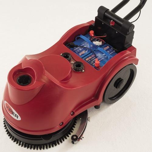 fregadora de pisos de batería industrial viper as380b