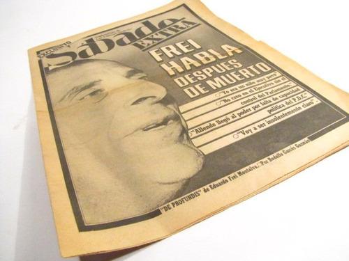 frei habla despues de muerto. sabado extra lun. 1982