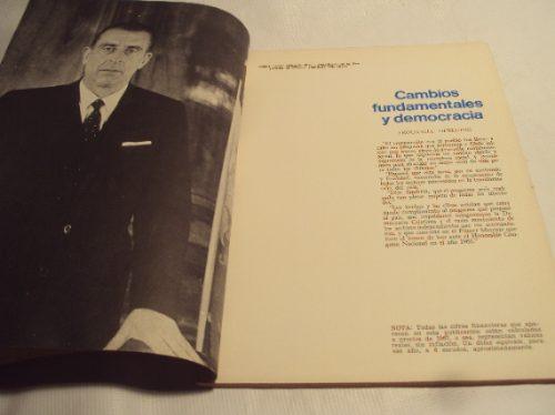 frei montalva extracto mensaje presidencial 1965 1968