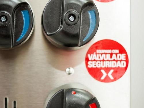 freidora 18 litros sol real triple inyección alta recup