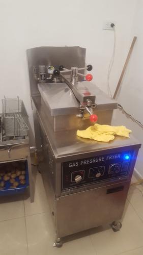 freidora a gas a presión para pollo de 25 lts marca iboia