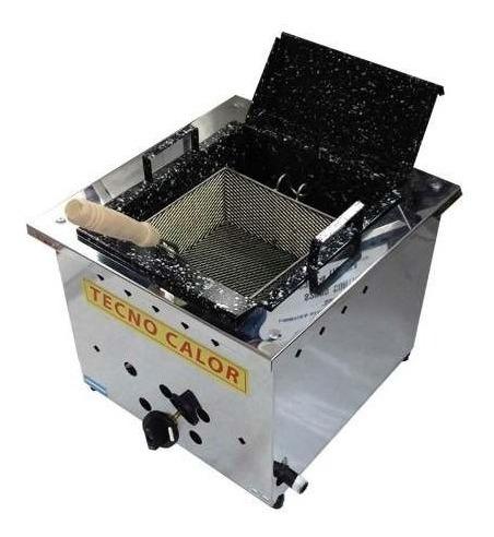 freidora a gas tecnocalor de mesa 10 lts de mesa