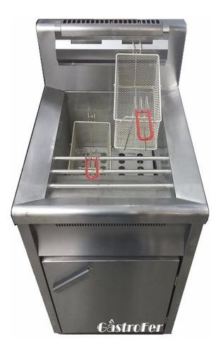 freidora automatica fornax 30 lts acero alta recuperacion