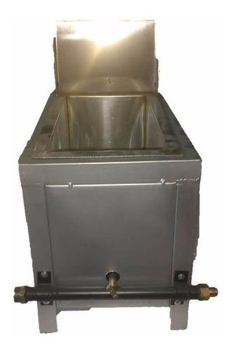 freidora con 1 tina de 6.7 lts tipo cabezal con canastilla