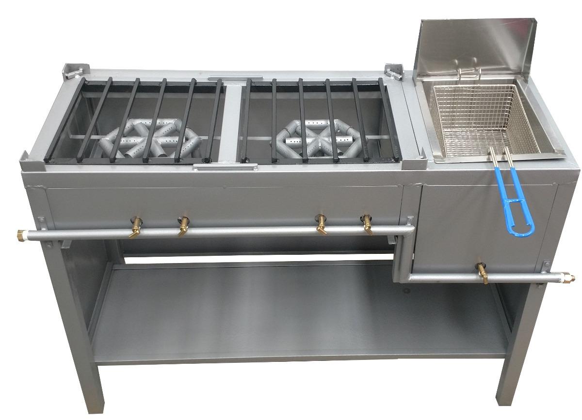 Freidora con plancha 80x40 se convierte en estufa cocinas - Cocinas con plancha incorporada ...
