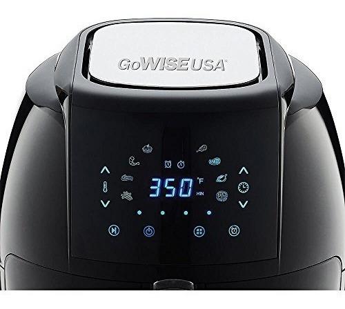 freidora de aire digital gowise usa 1700 vatios 5.8 qt 8 en
