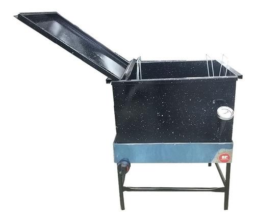 freidora de churros churreria y canasto con tapa churrera
