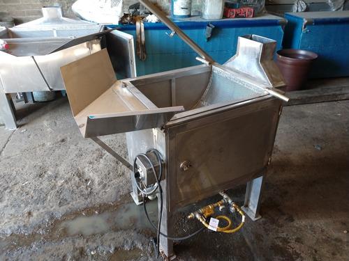 freidora de volteo 180 litros para totopos y frituras.