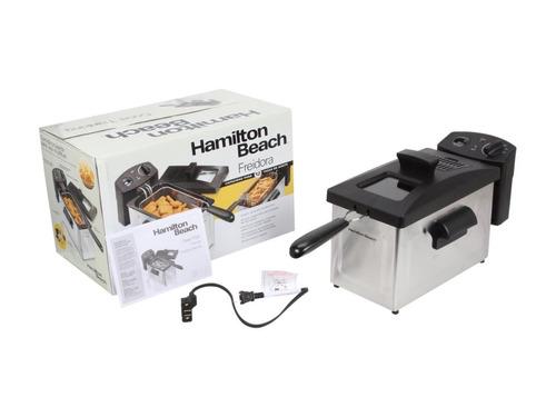 freidora eléctrica 12 tazas hamilton beach 35033