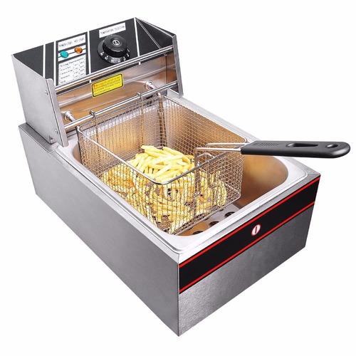 freidora eléctrica 6 litros uso comercial 25000 watts oferta