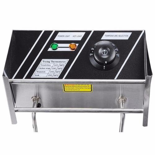 freidora electrica 6 litros uso commercial
