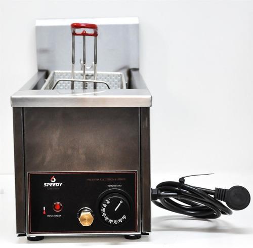 freidora electrica 8 litros con desagote marca speedy grill