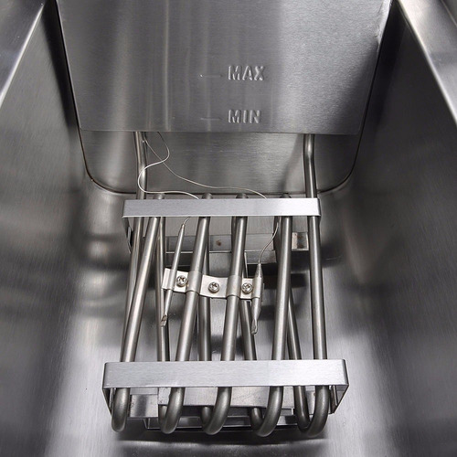 freidora eléctrica comercial comida rapida capacidad 20 l