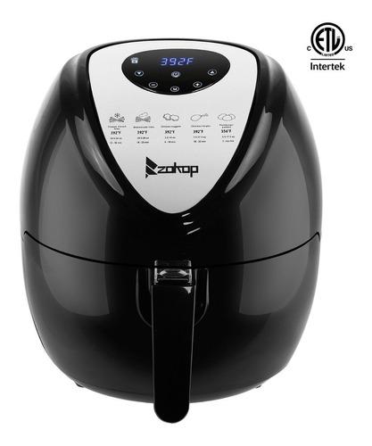 freidora eléctrica de aire alimentos saludable xl 1800w 5.6l