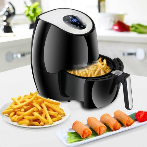 freidora  eléctrica de aire alimentos saludables 1300w 2.5l