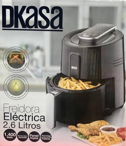 freidora electrica dkasa 2.6 litros ahorra un 80% de aceite
