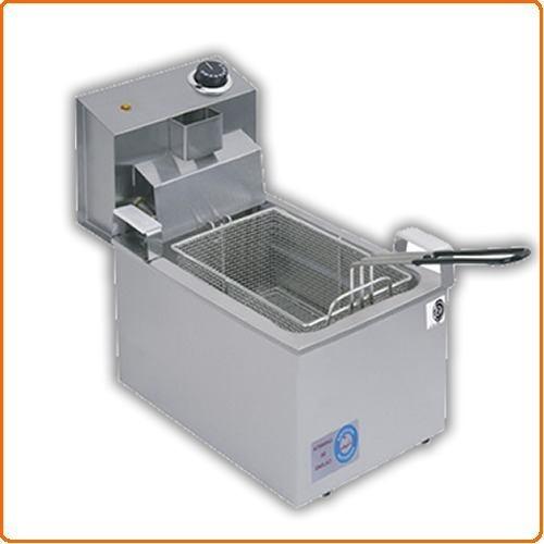 freidora electrica doble - 16 litros valvula y termostato