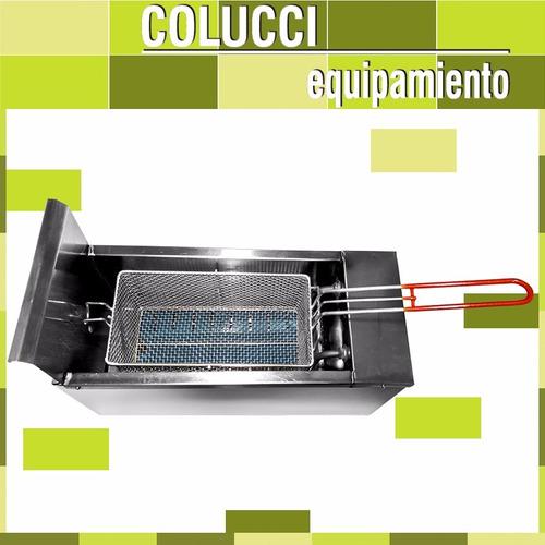 freidora electrica industrial automatica 8 lts speedy grill