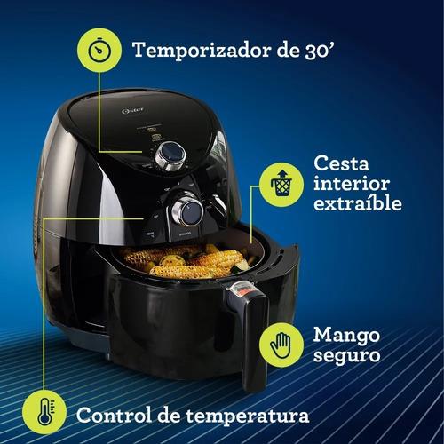 freidora electrica oster olla 3.2 litros 80%-aceite ceramica