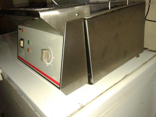 freidora eléctrica pollin 2 canastos trifacica