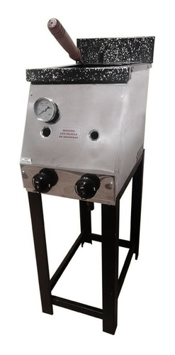 freidora industrial 10 lts + anafe 4 hornallas industrial