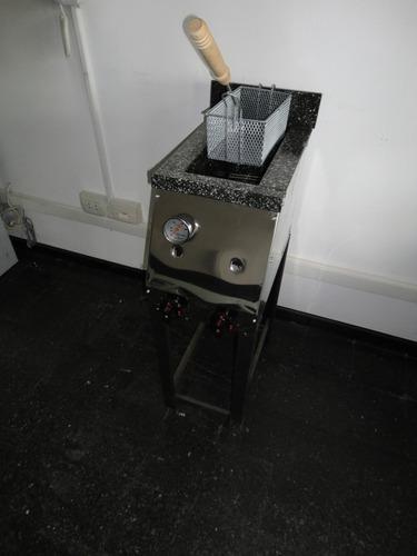 freidora industrial 10lts. c/ 1 canasto ahora 12 18
