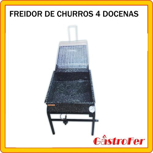 freidora para churros alto rendimiento 4 docenas churrero