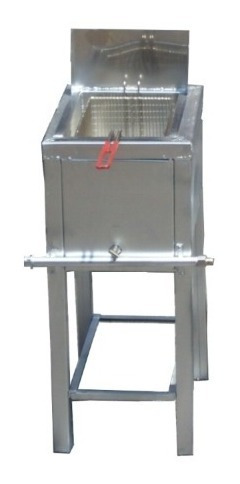 freidora plancha estufa  3 en 1 tina de acero inoxidable 5lt