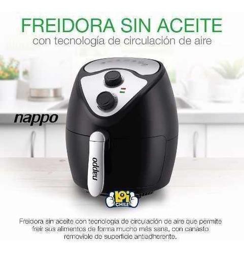 freidora sin aceite nappo 1400w 2.6l calidad y garantia loi