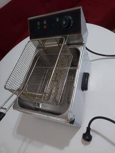 freidora tdc electrica de capacidad 8lt.