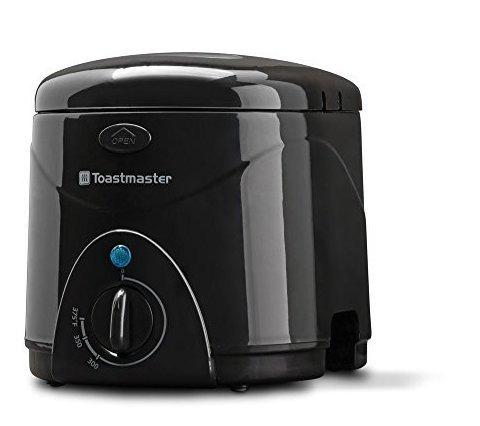freidora toastmaster tm-81df, 1 l, negro