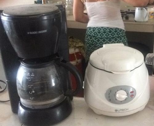 freidora y cafetera
