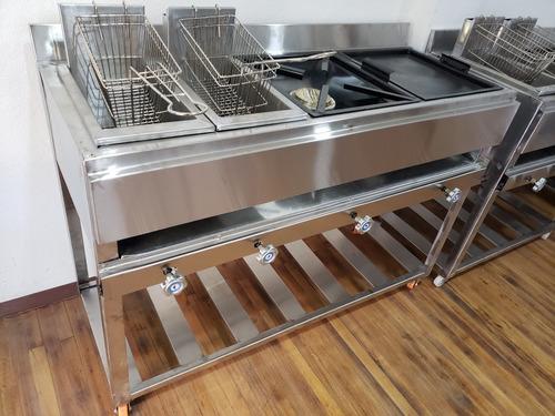 freidoras cocinas industriales en acero inoxidable