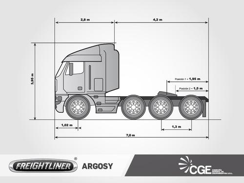 freightliner argosy americano  2006 / aptos bitren