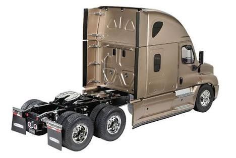 freightliner cascadia evolution kit 1:14 trailer a escala!!