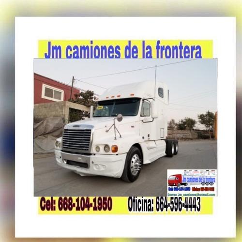 freightliner century 2010 listo para placas federales