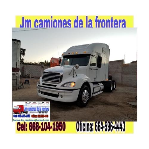 freightliner columbia 2009 listo para emplacar federal