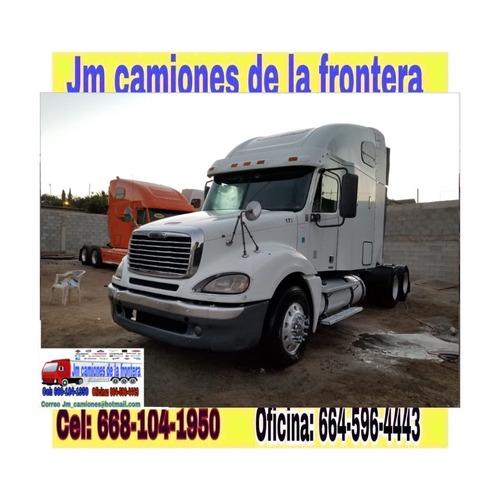 freightliner columbia 2009 recién nacionalizado completo