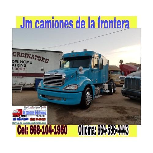 freightliner columbia 2009 recien nacionalizado muy bonito