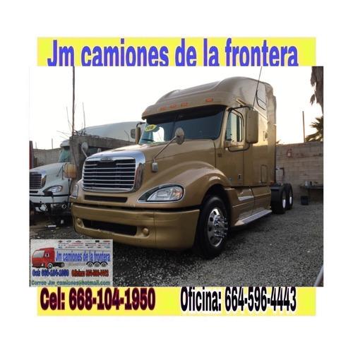 freightliner columbia 2010 recien nacionalizado completo