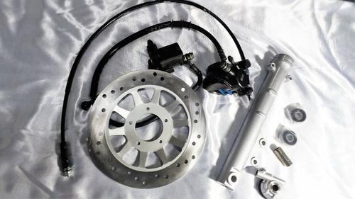 freio á disco roda liga leve cg fan titan 150 mix até 2013