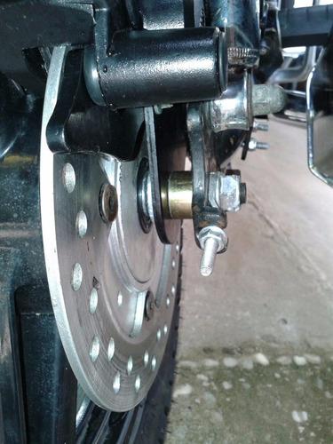 freio a disco traseiro / biz / pop 100/110i kit completo