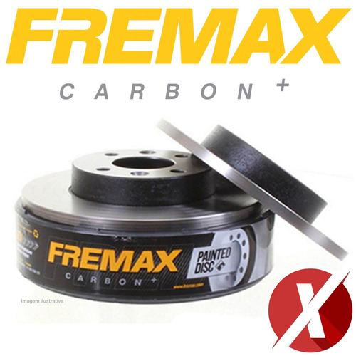 fremax bd1700 disco freio diant. par honda fit 1.4 8v new