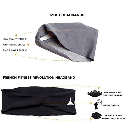 french fitness revolution diadema para hombre