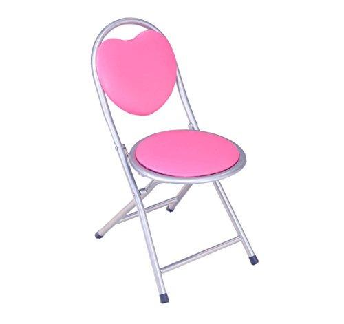 frenchi equipamiento del hogar metal kids silla plegable, ro